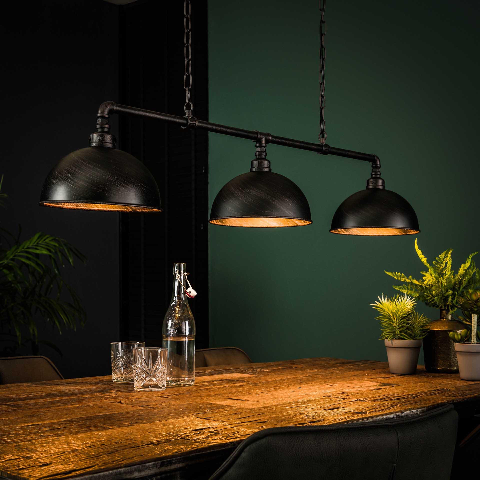 Industriële Hanglamp Barrett 3-lamps