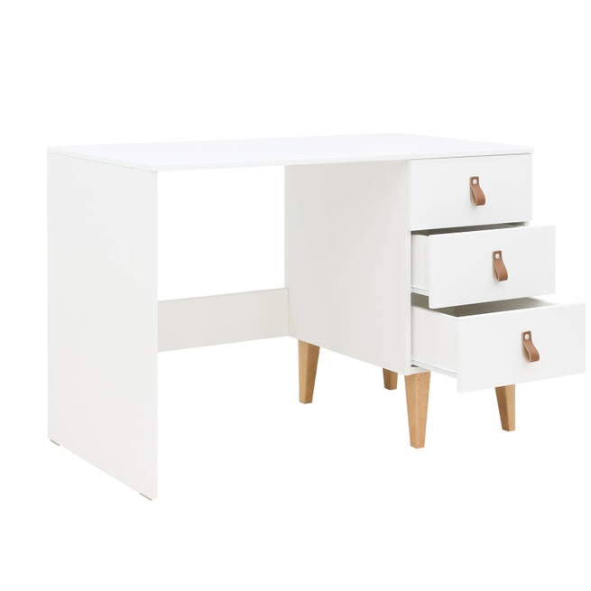 Bopita Bureau 'Indy' 120 x 55cm, kleur wit