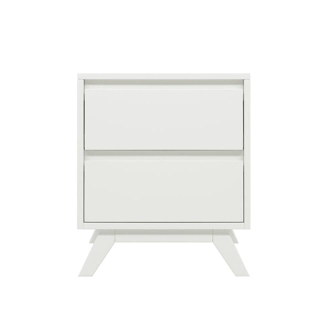 Bopita Nachtkastje 'Anne' kleur wit