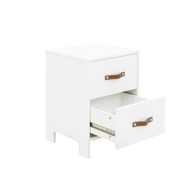 Bopita Nachtkastje 'Lucca' kleur wit