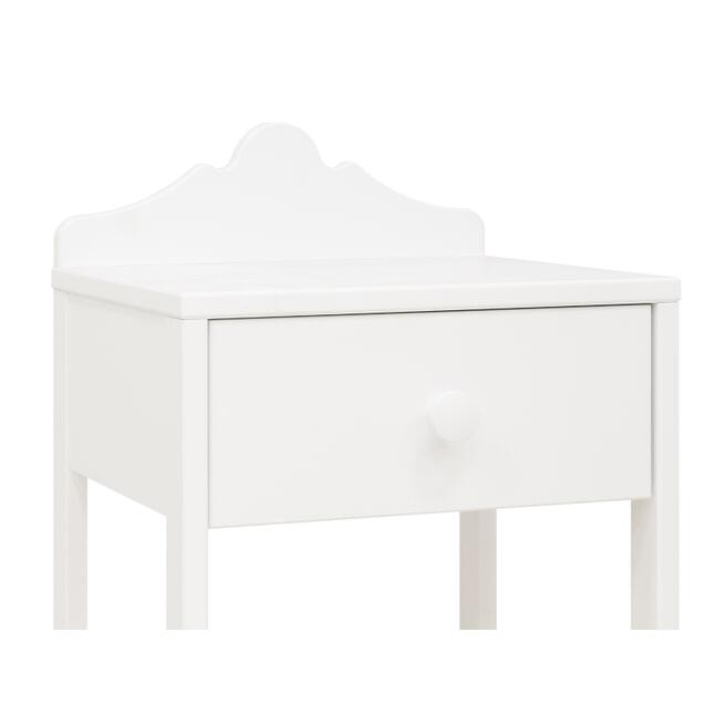 Bopita Nachtkastje 'Evi' kleur wit