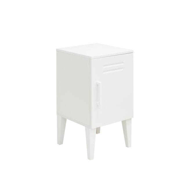 Bopita Nachtkastje 'Locker' kleur wit