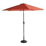 Hartman Parasol 'Sunline' 270cm, kleur Oranje