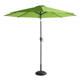 Hartman Parasol 'Sunline' 270cm, kleur Groen