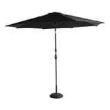Hartman Parasol 'Sunline' 300cm, kleur Zwart