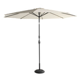 Hartman Parasol 'Sunline' 300cm, kleur Beige