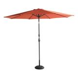 Hartman Parasol 'Sunline' 300cm, kleur Oranje