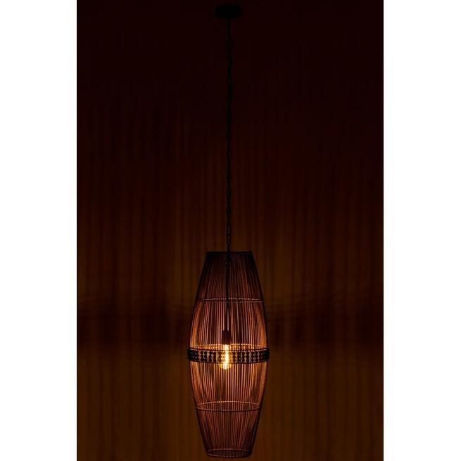 J-Line Hanglamp 'Rosina' Bamboe