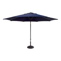 Hartman Parasol 'Solar Line' 300cm, kleur Donkerblauw