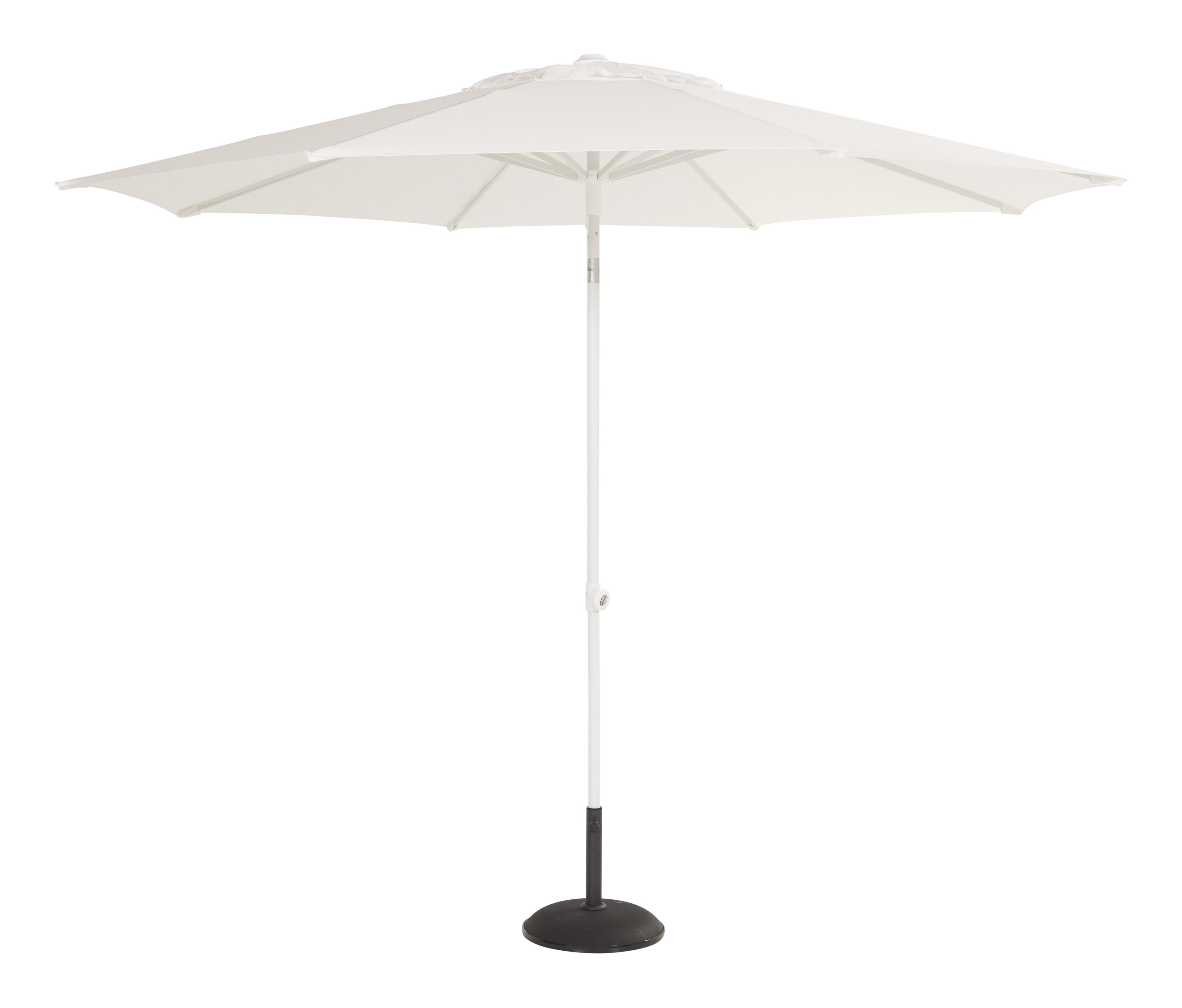 Hartman Parasol 'Sophie' 300cm, kleur Wit