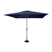 Hartman Parasol 'Solar Line' 300 x 200cm, kleur Donkerblauw