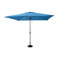 Hartman Parasol 'Solar Line' 300 x 200cm, kleur Blauw