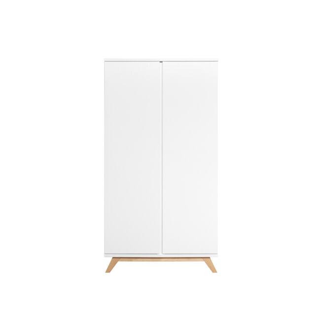 Bopita Kledingkast 'Lynn' kleur wit / naturel