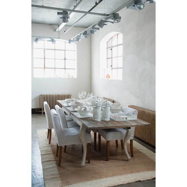 Rivièra Maison Uitschuifbare Eettafel 'Driftwood' 180-280 x 90cm