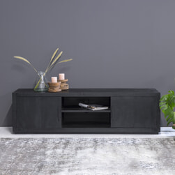 LivingFurn TV-meubel 'Jaxx' Mangohout, 180cm