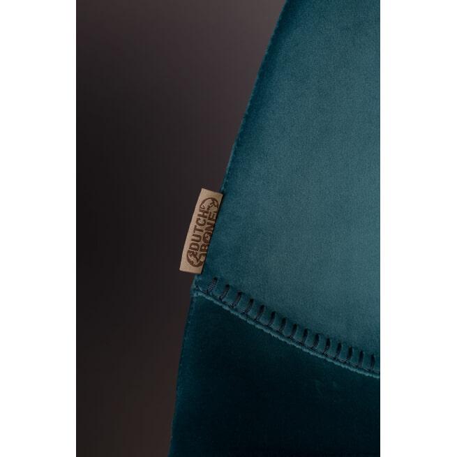 Dutchbone Barkruk 'Franky' Velvet (zithoogte 80cm)