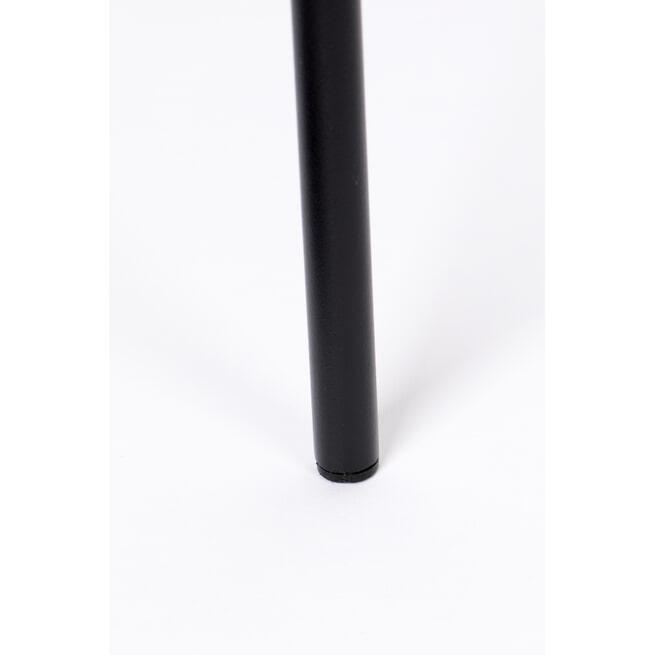 Zilt Barkruk 'Dina' zithoogte 66cm, kleur Grijs