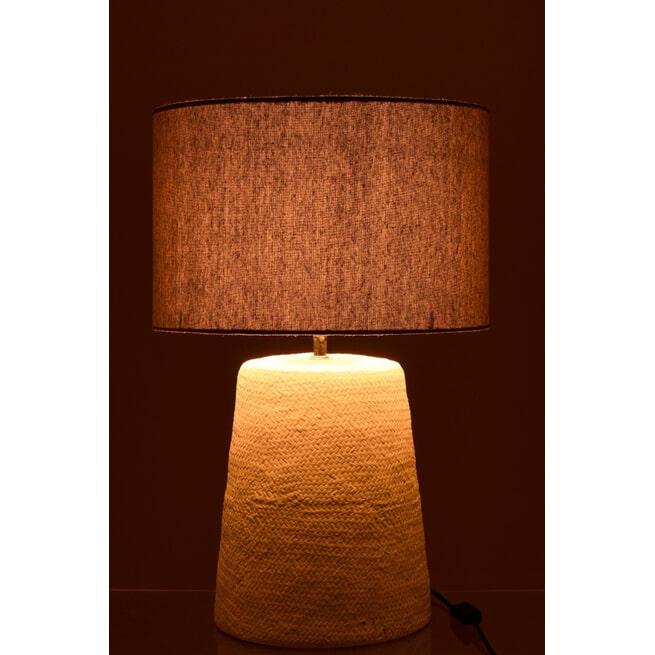 J-Line Tafellamp 'Medard' 64cm hoog