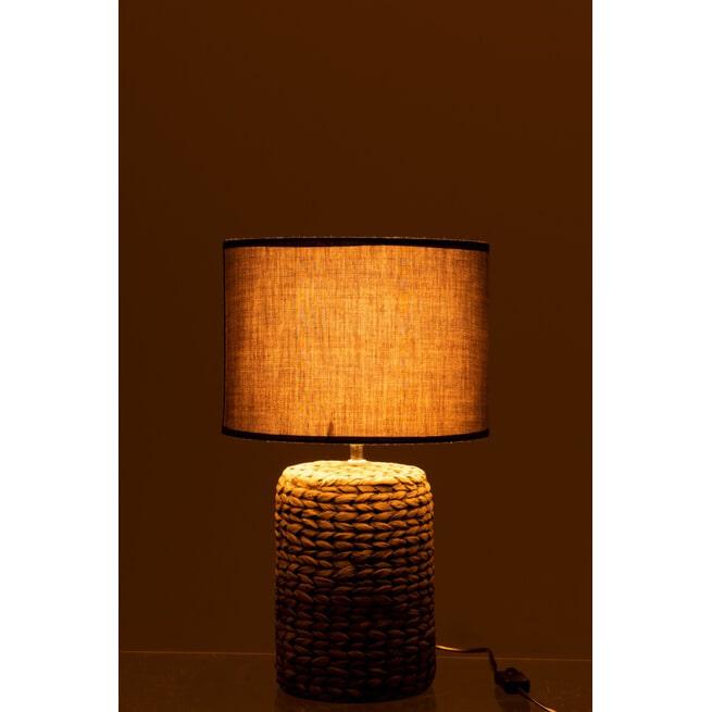J-Line Tafellamp 'Rina' 46cm hoog
