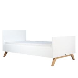 Bopita Bed 'Lynn' 90 x 200cm, kleur wit / naturel