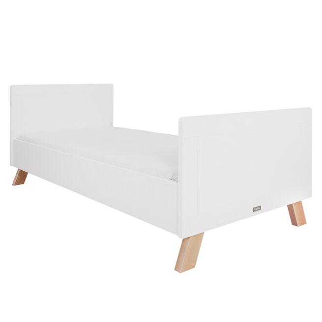 Bopita Bed 'Lisa' 90 x 200cm, kleur wit / naturel