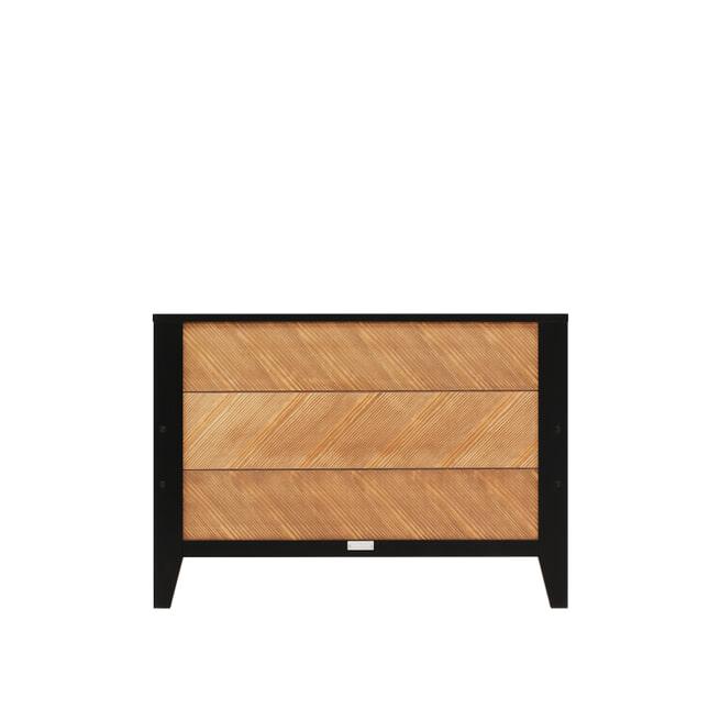 Bopita Bed 'Job' 90 x 200cm, kleur vintage honey / zwart