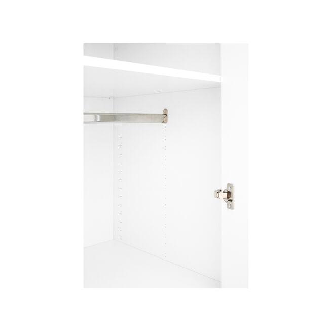 Bopita Kledingkast 'Lisa' kleur wit / naturel