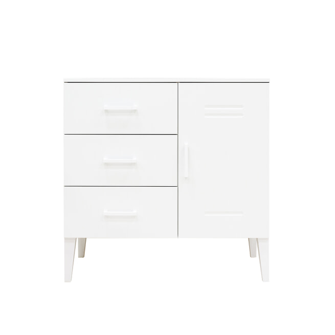 Bopita Commode 'Locker' kleur wit