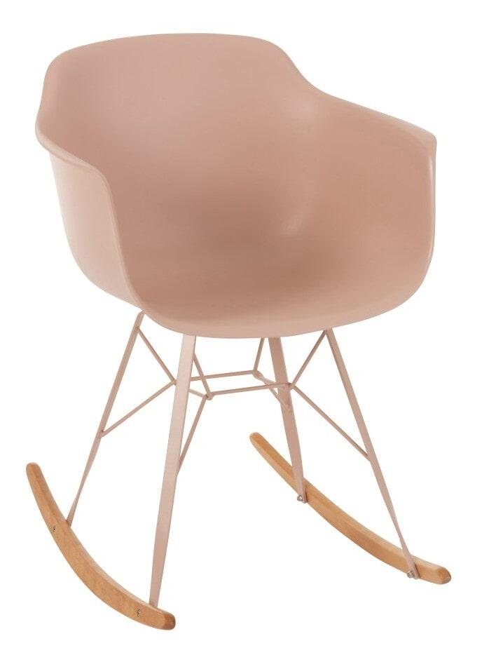J-Line Schommelstoel 'Lilah' kleur Roze