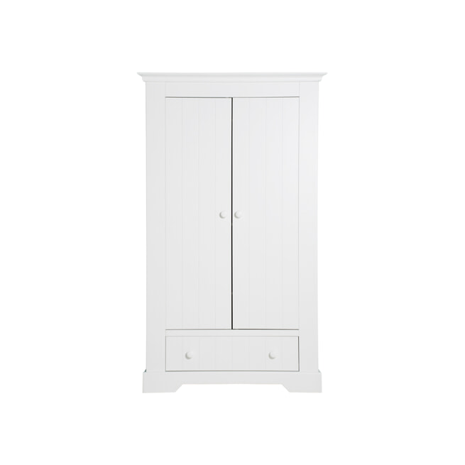 Bopita Kledingkast 'Narbonne' kleur wit