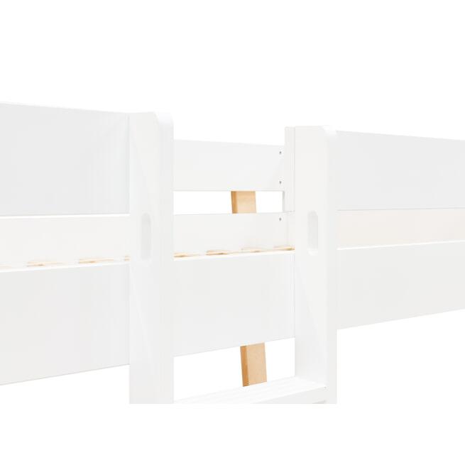 Bopita Stapelbed 'Lisa' 90 x 200cm, kleur wit / naturel