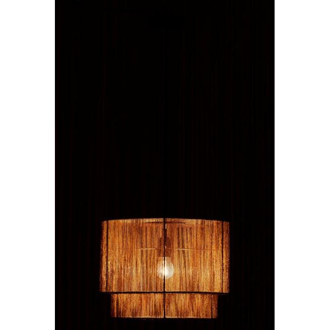 J-Line Hanglamp 'Ivona' Raffia