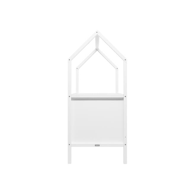 Bopita Meegroeiledikant 'My First House' 70 x 140cm, kleur wit
