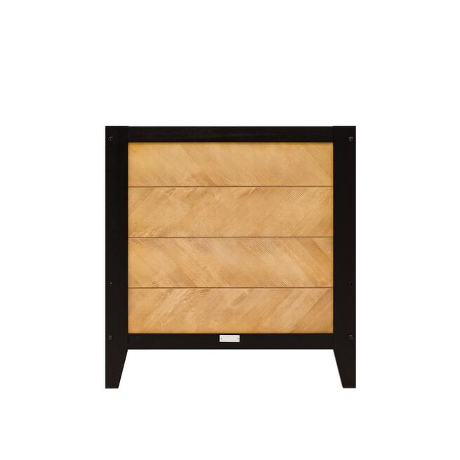 Bopita Meegroeiledikant 'Job' 70 x 140cm, kleur vintage honey / zwart