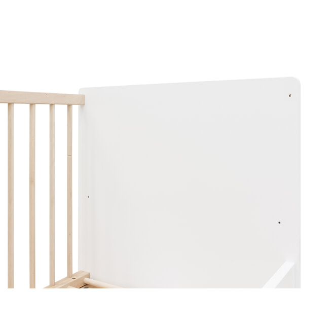 Bopita Meegroeiledikant 'Indy' 70 x 140cm, kleur wit / naturel