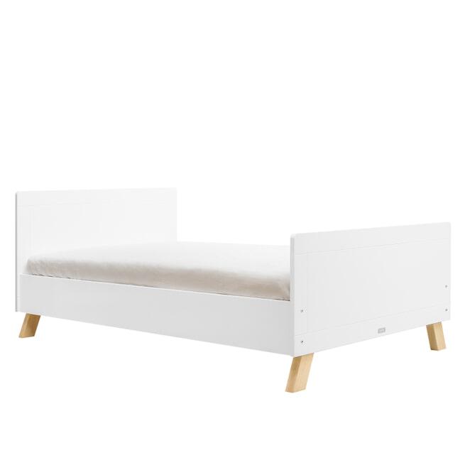 Bopita Twinbed 'Lisa' 120 x 200cm, kleur wit / naturel