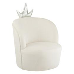 J-Line Kinderstoel 'Crown' Velvet