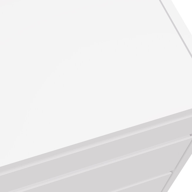 Artistiq Ladekast met spiegel 'Hilde', 110 x 45cm, kleur Wit