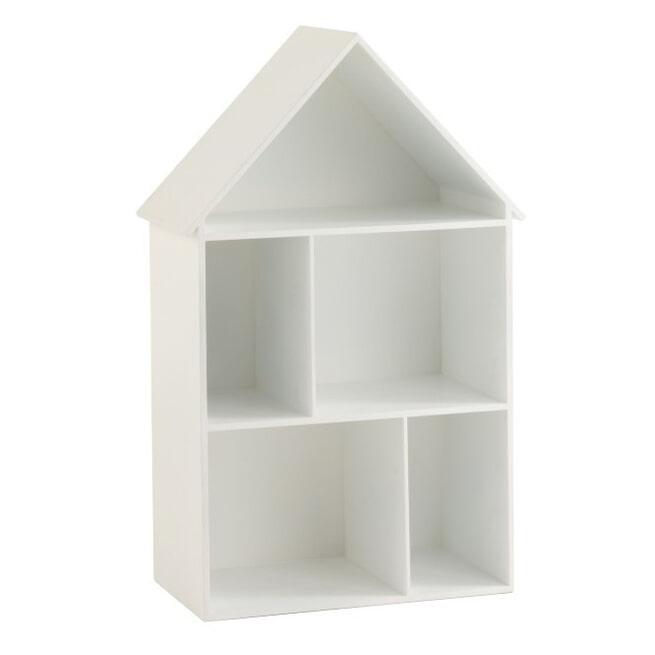 J-Line Muurrek 'Josué' Huis, kleur Wit