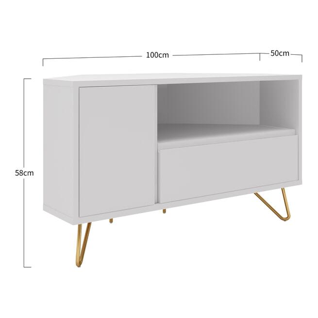 Artistiq TV-meubel 'Denver', 100cm, kleur Wit