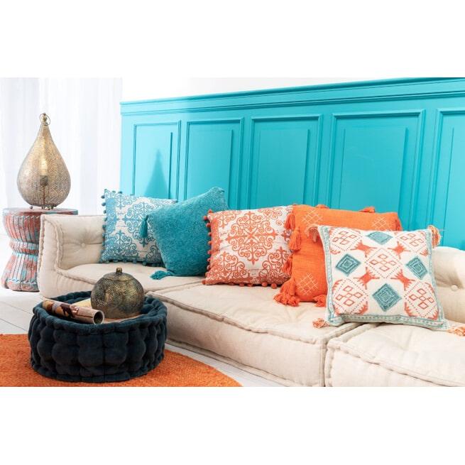 J-Line Kurkje 'Richardus' kleur Oranje / Azuur