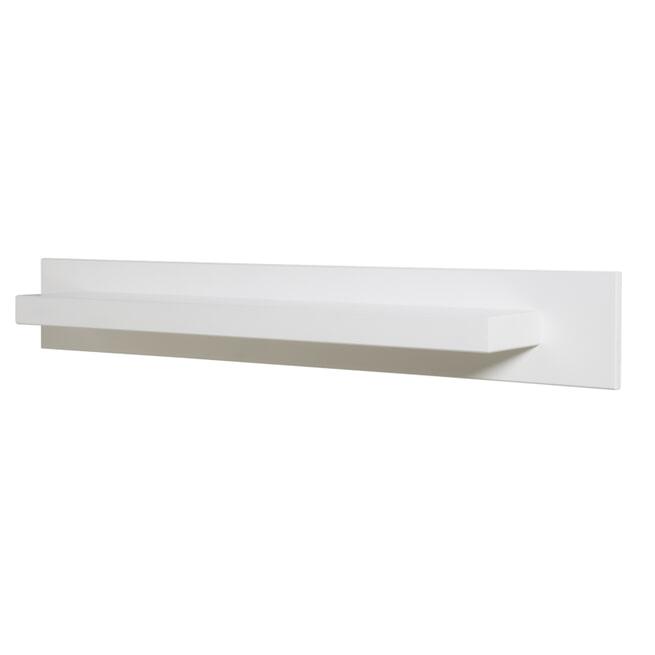 Bopita Wandplank 'Corsica' 100cm, kleur wit
