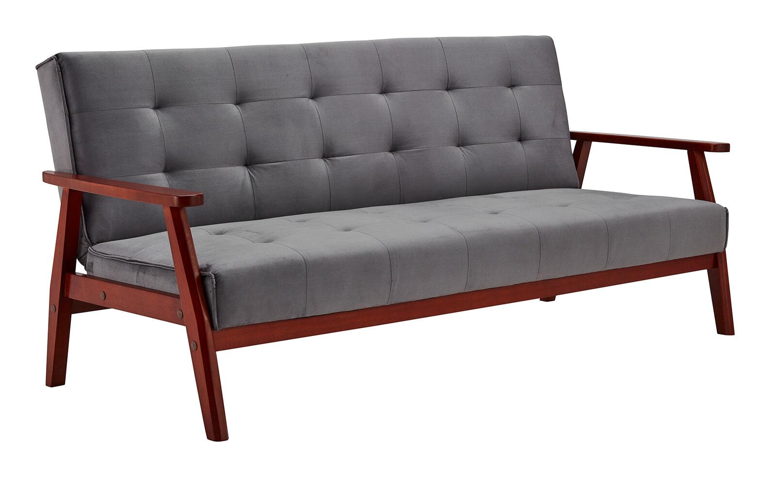 Op SlaapkamerComfort: Alles voor slapen is alles over gadgets te vinden: waaronder meubelpartner en specifiek Artistiq Slaapbank Lilly, 190cm, kleur Grijs
