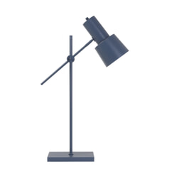 Light & Living Tafellamp 'Preston', mat blauw