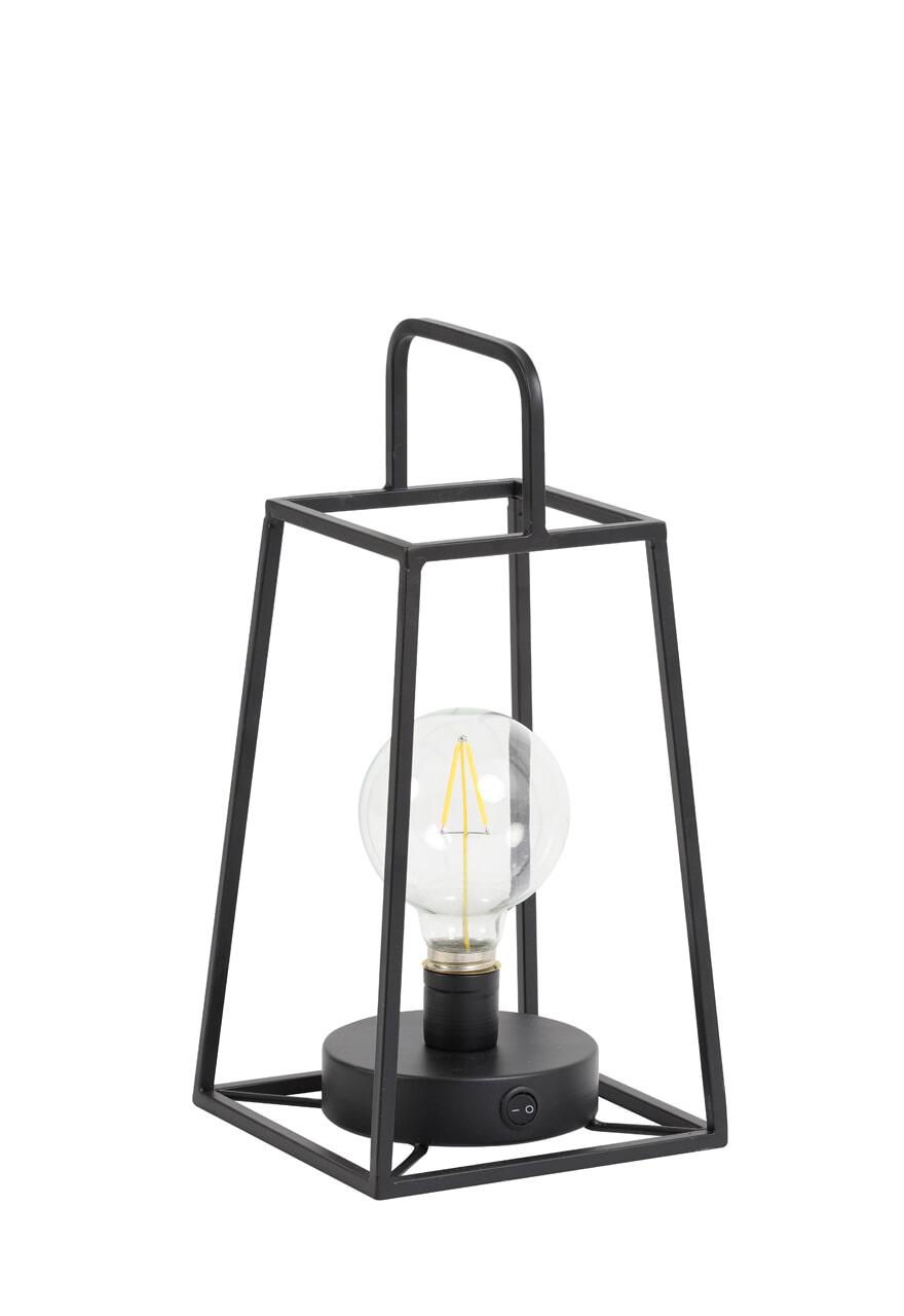 Light & Living Tafellamp 'Fauve' LED, kleur Mat Zwart