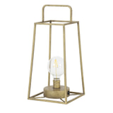 Light & Living Tafellamp 'Fauve' LED, kleur Antiek Brons