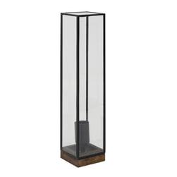 Light & Living Tafellamp 'Askjer' 45cm, kleur Bruin/Zwart