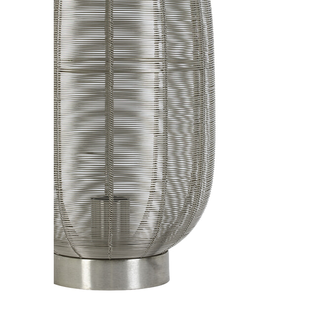 Light & Living Tafellamp 'Ophra', nikkel
