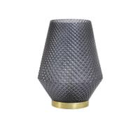 Light & Living Tafellampje 'Tovi' LED op batterijen, kleur grijs