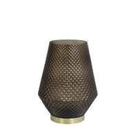 Light & Living Tafellampje 'Tovi' LED op batterijen, kleur bruin